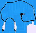 Flex 1022 Stack DC Plug 50cm