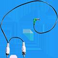 Flex 4022 Stack DC Plug 50cm Positive