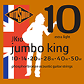 Jumbo King JK10 Phosphor Bronze 10 14 20 28 40 50