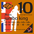 Jumbo King JK30EL Phosphor Bronze 12 String 10 14 8 12 18 28 - 10 14 24 30 40 48