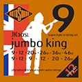 Jumbo King JK30SL Phosphor Bronze 12 String 9 12 9 12 20 26 - 9 12 20 26 36 46