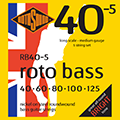 Roto Bass Nickel (Unsilked) 5 String 40 60 80 100