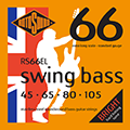 Swing Bass 66 RS66EL Stainless Steel Extra Long 45 65 80 105