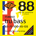 Tru Bass 88 RS885LD Black Nylon Flatwound 5 String