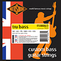 Tru Bass 88 RS886LD Black Nylon Flatwound 6 String