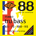 Tru Bass 88 RS88LD Black Nylon Flatwound 65 75 100